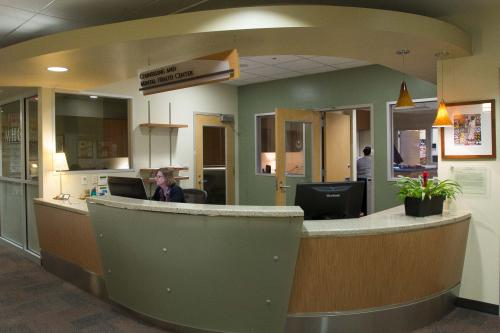 Counseling and Mental Health Center front desk