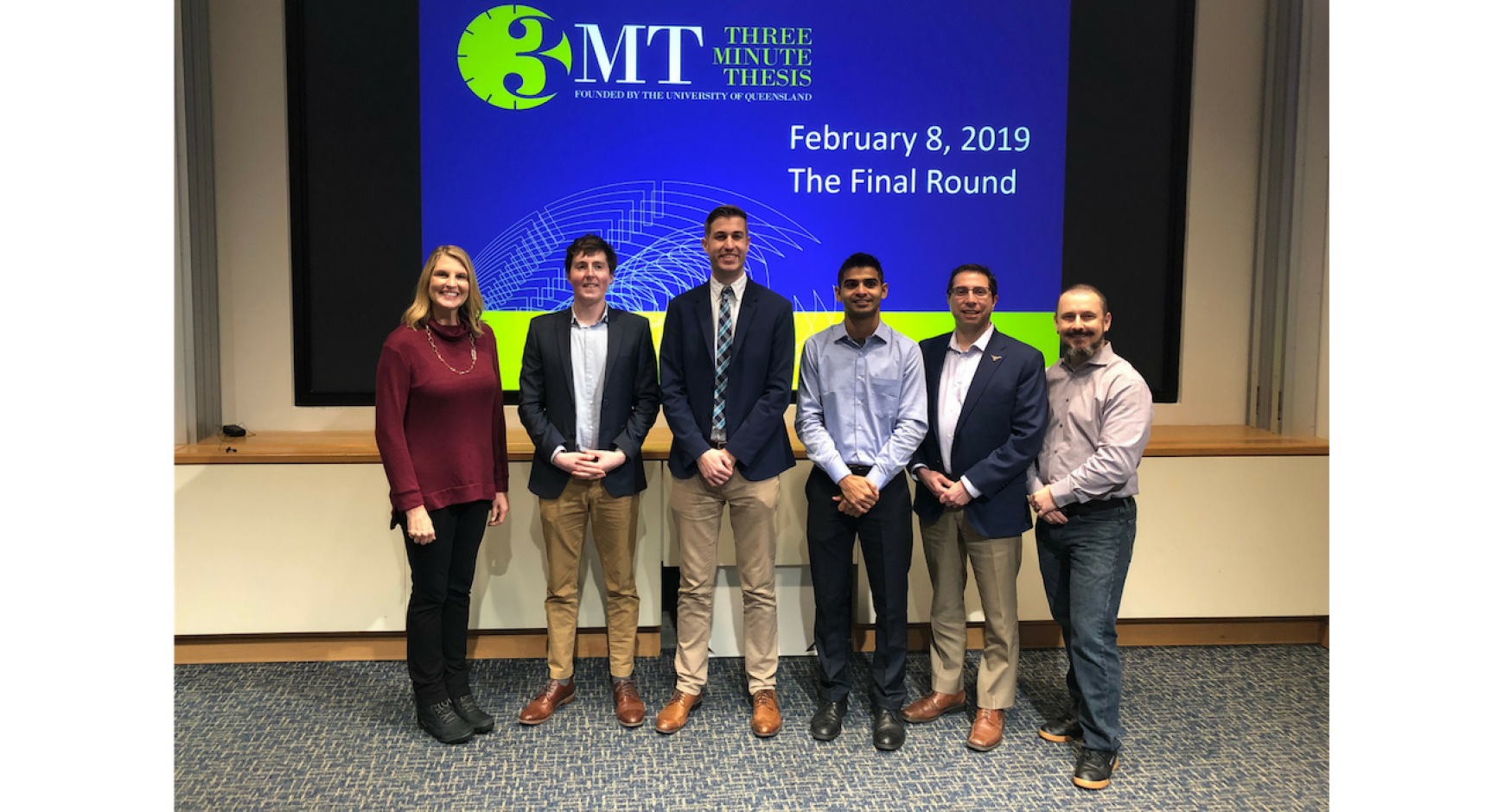 Chemical Engineering Ph D Student Wins Three Minute Thesis Competition Graduate School The University Of Texas At Austin
