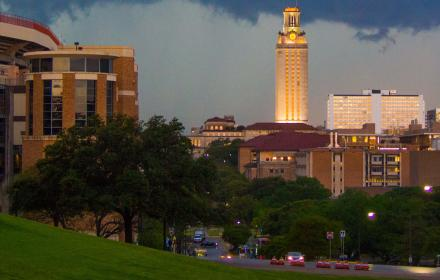 View of campus from LBJ